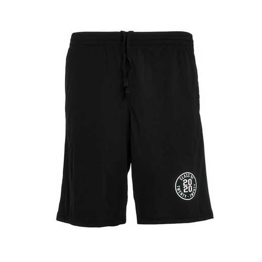 Men's 2020 Mesh Athletic Shorts-Black